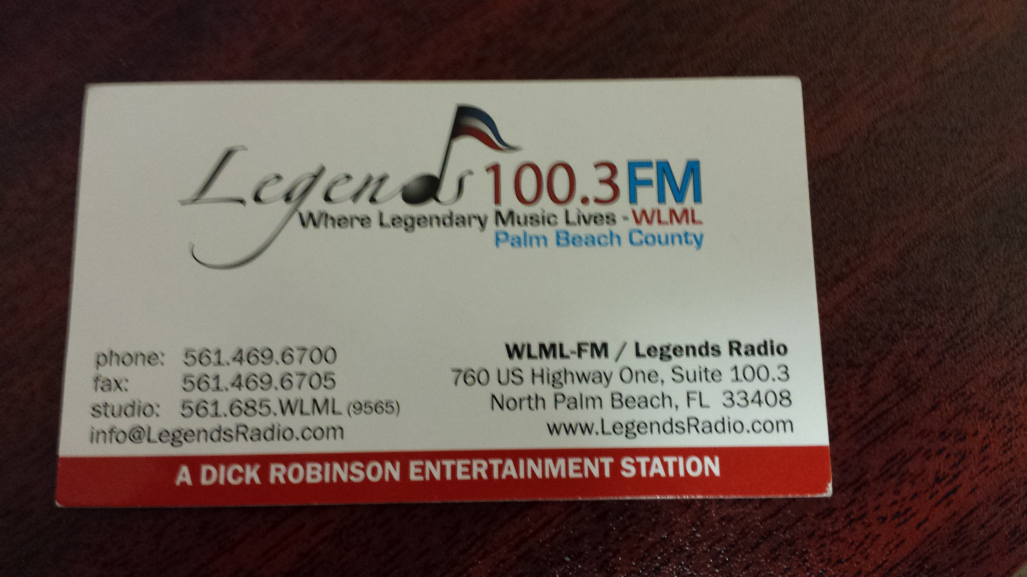 Hear Media interviews on Legends Radio with Paradise Home Health Care