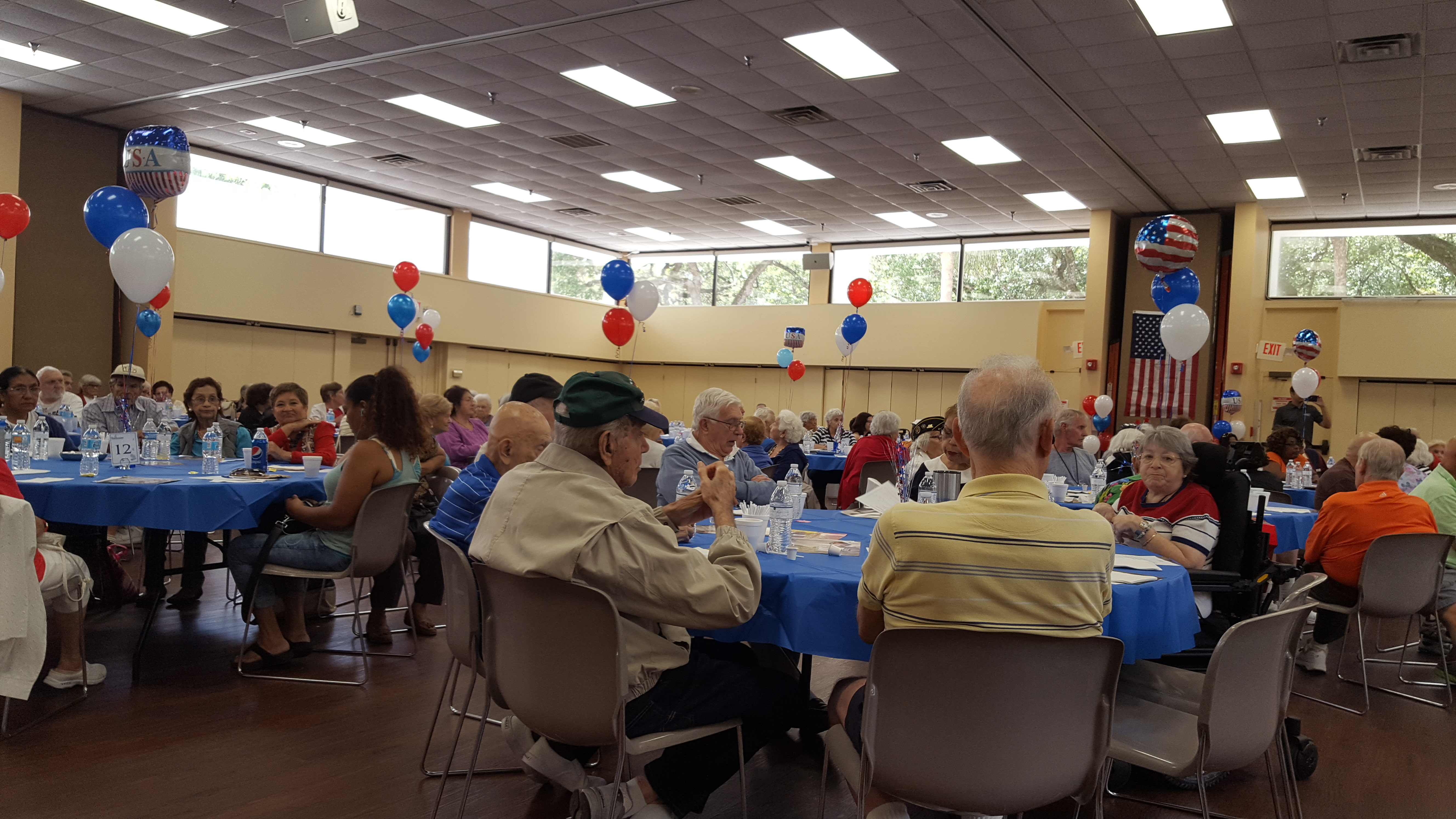 Independence Day Party at Senior Center